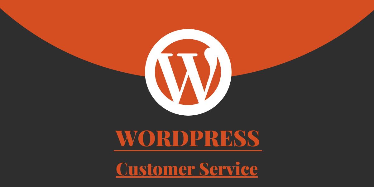 Wordpress Customer Service Wordpress.com .org